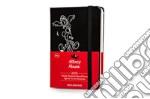 Agenda. 12 mesi. Mickey mouse weekly notebook diary. Pocket. Copertina rigida nera articolo per la scrittura