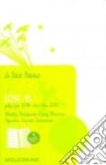 Agenda. 18 mesi. Le Petit Prince weekly notebook diary. Pocket. Copertina rigida bianca articolo per la scrittura
