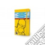 The Simpsons. Limited edition notebook. Large. Ruled. Copertina rigida gialla articolo per la scrittura