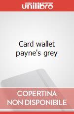 Card wallet payne's grey articolo per la scrittura