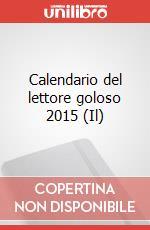 Il Calendario del lettore goloso 2015 articolo per la scrittura di Bay Allan