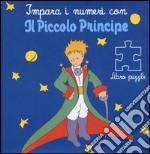 Impara i numeri con il Piccolo Principe. Libro puzzle articolo per la scrittura