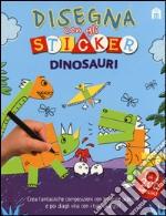 Dinosauri. Disegna con gli sticker. Ediz. illustrata articolo per la scrittura