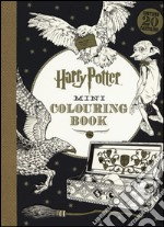 Harry Potter mini colouring book articolo per la scrittura di Rowling J. K.