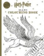 Harry Potter maxi colouring book articolo per la scrittura