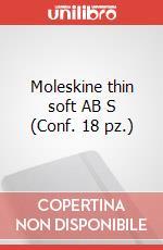 Moleskine thin soft AB S (Conf. 18 pz.) articolo per la scrittura