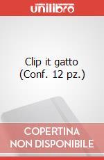 Clip it gatto (Conf. 12 pz.) articolo per la scrittura