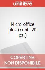Micro office plus (conf. 20 pz.) articolo per la scrittura di Moleskine