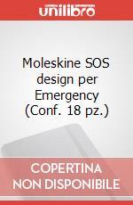 Moleskine SOS design per Emergency (Conf. 18 pz.) articolo per la scrittura di Moleskine