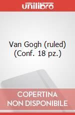 Van Gogh (ruled) (Conf. 18 pz.) articolo per la scrittura di Moleskine