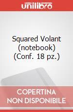 Squared Volant (notebook) (Conf. 18 pz.) articolo per la scrittura di Moleskine