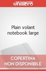 Plain volant notebook large articolo per la scrittura