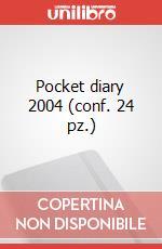 Pocket diary 2004 (conf. 24 pz.) articolo per la scrittura di Moleskine