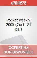 Pocket weekly 2005 (Conf. 24 pz.) articolo per la scrittura di Moleskine