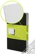 Moleskine Cahier Pocket a pagine bianche copertina nera art vari a