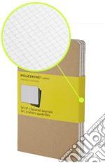 Moleskine Cahier Pocket a quadretti copertina kraft art vari a