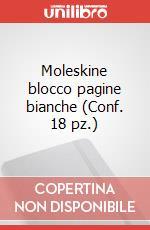 Moleskine blocco pagine bianche (Conf. 18 pz.) articolo per la scrittura di Moleskine
