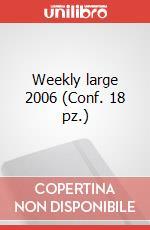 Weekly large 2006 (Conf. 18 pz.) articolo per la scrittura di Moleskine