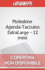 Moleskine Agenda-Taccuino ExtraLarge - 12 mesi articolo per la scrittura