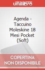 Agenda - Taccuino Moleskine 18 Mesi Pocket (Soft) articolo per la scrittura