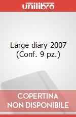 Large diary 2007 (Conf. 9 pz.) articolo per la scrittura di Moleskine