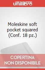 Moleskine soft pocket squared (Conf. 18 pz.) articolo per la scrittura di Moleskine