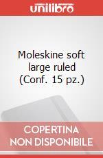Moleskine soft large ruled (Conf. 15 pz.) articolo per la scrittura di Moleskine