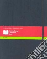 Agenda Monthly Notebook 2009 - ExtraLarge Soft Black articolo per la scrittura