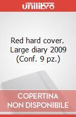 Red hard cover. Large diary 2009 (Conf. 9 pz.) articolo per la scrittura di Moleskine