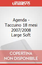 Weekly notebook 2007-2008 18 mesi large articolo per la scrittura