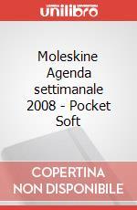 Moleskine Agenda settimanale 2008 - Pocket Soft articolo per la scrittura