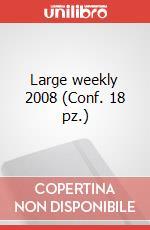 Large weekly 2008 (Conf. 18 pz.) articolo per la scrittura di Moleskine