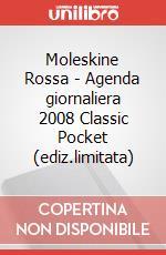Moleskine Rossa - Agenda giornaliera 2008 Classic Pocket (ediz.limitata) articolo per la scrittura
