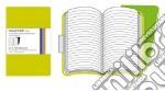 Volant Moleskine - Large Righe VERDE (2 taccuini) articolo per la scrittura