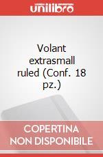 Volant extrasmall ruled (Conf. 18 pz.) articolo per la scrittura di Moleskine