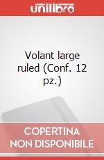 Volant large ruled (Conf. 12 pz.) articolo per la scrittura di Moleskine