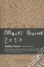 Agenda Settimanale Orizzontale Pocket 2010 - Pelle Nera