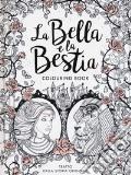 La Bella e la Bestia. Colouring book art vari a