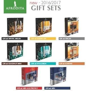 GIFT BOX SETS Afrodita: scegli il regalo perfetto per il Natale!