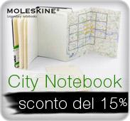 Moleskine City Notebook - Davvero un Buon Viaggio!  -15%