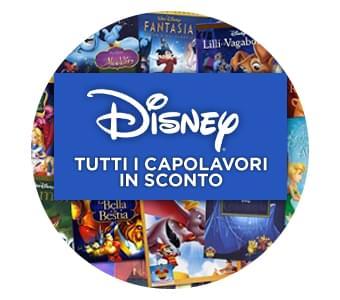 Tutti i capolavori firmati Walt Disney in DVD a soli 9.99 euro!