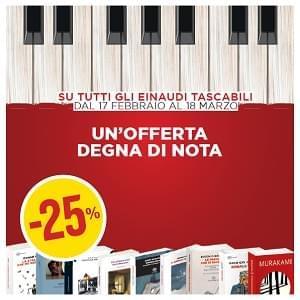Tutta la grande narrativa Einaudi tascabile in promozione!