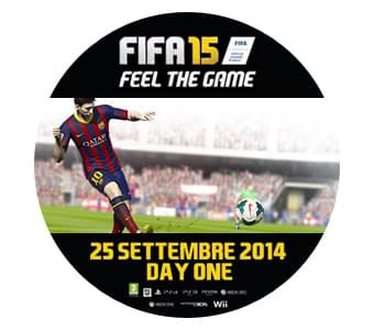 FIFA 15 -  Feel the game. Vivi emozioni mai provate prima!