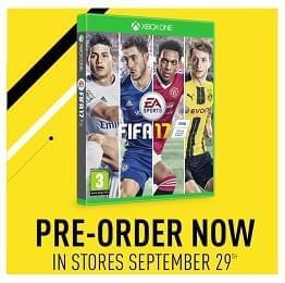 FIFA 17. Prenotalo subito in promozione!