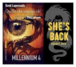 E' finalmente disponibile il quarto capitolo della saga di Stieg Larsson