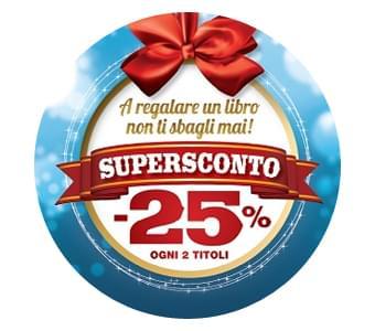Promozione Mondadori Natale 2014: acquista 2 Libri con il SuperSconto -25%