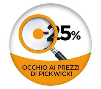 Promozione PICKWICK - Grandi Storie e Grandi Autori in promozione -25%