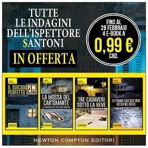 Tutte le indagini dell'ispettore più amato dagli italiani a soli 0,99 euro!