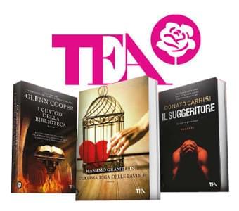 TEA libri: i romanzi più famosi, più amati e più letti: in promozione -15%