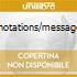 RITUEL/NOTATIONS/MESSAGEQUISSE